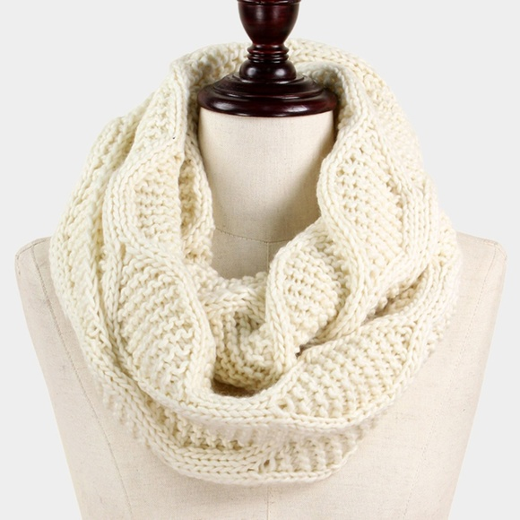 Accessories   Knitted Infinity Scarf   Poshmark